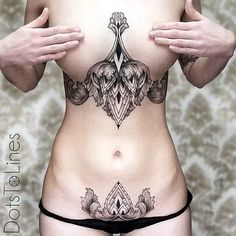 Now, I know I will never have the body for this, but I do fancy the way it looks. Underboob Tattoos Designs for Women (11)