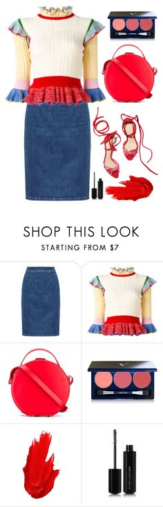 """""""Untitled #983"""" by meli111 on Polyvore featuring Alexander McQueen, Nico Giani, Vapour Organic Beauty, Maybelline and Marc Jacobs"""