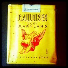 Gauloises cigarettes