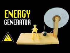 Homemade Power Generator | DIY Free energy Generator.