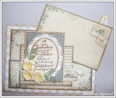 Cute design from Marianne with Pion papers