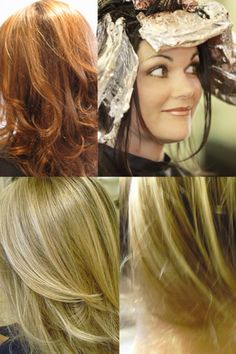 Hair Color Techniques On Pinterest Hair Cutting