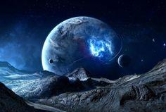 Fantasy Planets wallpaper