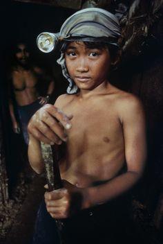Child Labour, Philippines Mines