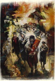 Vyacheslav Braginsky (Russian/Israeli, born 1955) 'Pogrom'