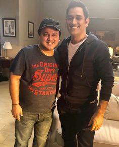 """It was so nice to meet the """"Man"""" behind The """"Legend"""". I was always A big fan of his game but now I am a bigger fan of his humour."""