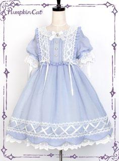 b8d0c499f6173 Pumpkin Cat -Sweet Tooth- Short Sleeves Sweet Lolita OP Dress
