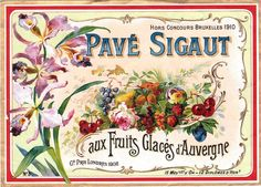 Vintage French Labels | This is a fabulous antique French label !! This one was sent in by ...