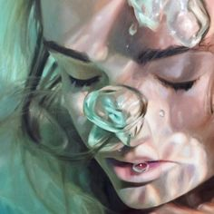 Paintings by Reisha Perlmutter Reisha Perlmutter (born in 1990 in Naples, Florida ) is an American artist, whose amazing hyperrealist paintings leave no one indifferent. Her inspiration comes from the childhood memories of the light and nature,...