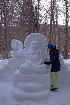 Snow Sculpture Haruwen 2012 - Ushuaia, TDF, Patagonia