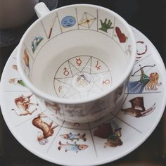Vintage Fortune Teller Cup :: Royal Kendal on Disco Witch Vintage