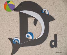 Clasa pregatitoare: Litera D de la delfin