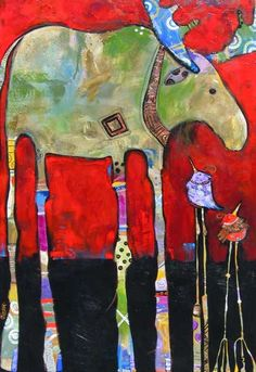 Western Art Paintings and Sculptures - West Lives On Gallery, Jenny Foster, artist