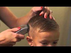 HOW TO CUT BOYS HAIR // Trendy boys haircut tutorial hair styles for women - YouTube