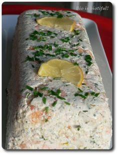 Terrine de Saint-Jacques, saumon et crevettes - Bio is biotiful !