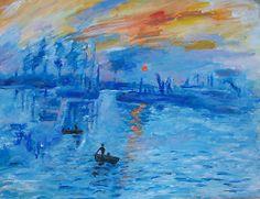 'Impression, Sunrise Monet painting Soleil Levan' Poster by schiabor Renoir, Claude Monet, Monet Paintings, Impressionism Art, Old Master, Art Pictures, Photos, Contemporary Artists, Lovers Art