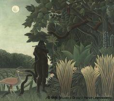 """Henri Rousseau: """"The Snake Charmer"""" (Musée d'Orsay, Paris)"""