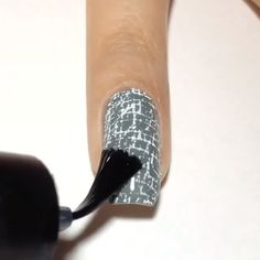 nails - 20 nail designs that seem tricky but aren't 00004 com Beautiful Nail Designs, Cute Nail Designs, Beautiful Nail Art, Pedicure Designs, Fancy Nails, Cute Nails, Pretty Nails, Free Makeup Samples, Free Samples