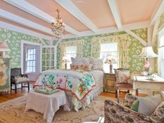 Kirstie Alley Maine Celebrity Home For Sale: Bedrooms