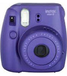 Fujifilm Instax Mini 8 Instant Camera, Grape