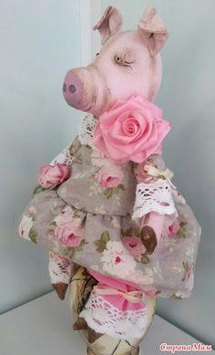 Свинка по МК Анастасии Голеневой - Игрушки своими руками - Страна Мам