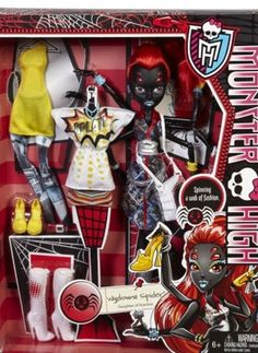 Monster High Wydowna Spider Fashion Doll NEW In Hand