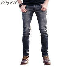 {Get it here ---> https://tshirtandjeans.store/products/2017-aking-ace-ripped-jeans-for-men-designer-mens-light-grey-biker-jeans-skinny-slim-fit-29-36-rip-jeans-denim-man-za258/|    Brand-new arrival 2017 AKing ACE Ripped Jeans for men designer mens light Grey biker jeans skinny slim fit 29-36 rip jeans denim man, ZA258 now available for sale $US $59.59 with free delivery  you can find that piece plus much more at the website      Grab it now at this website >>