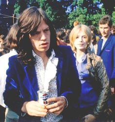 Mick Jagger and Marianne Faithfull                                                                                                                                                                                 More
