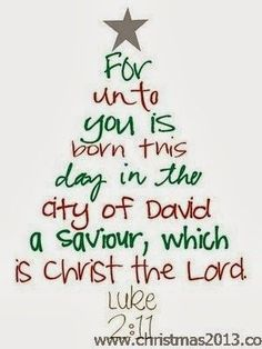For Unto You a Child is Born