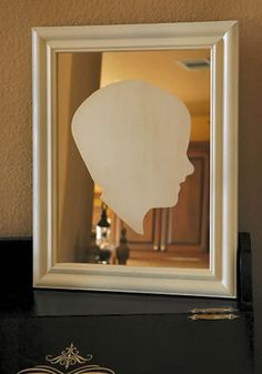 Create an Etched Glass Silhouette Mirror - Makely School for Girls