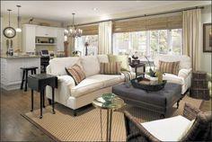 LR furniture looks so cozy