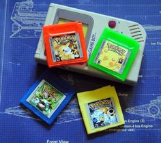 4 x Gameboy Parody Cart Soaps: Retro and geeky by NerdySoap