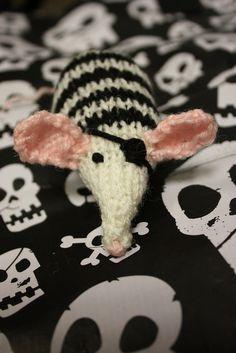 Captain Cat-Battler the Catnip Mouse