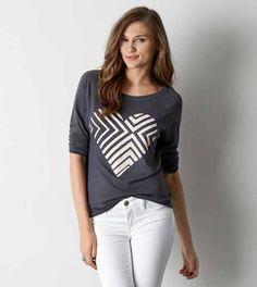 AEO Long Sleeve Graphic T-Shirt