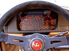 Steering wheel (Abarth logo) & Instrument panel DELTA S4