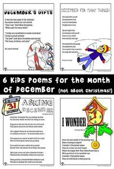 December Poems for Kids