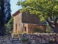 Paul Cezanne's Cabanon in the Bibemus Quarries near Aix-en-Provence where he composed so many wonderful paintings