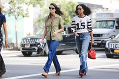 The Most Authentically Inspiring Street Style From New York #refinery29  http://www.refinery29.com/2015/09/93788/ny-fashion-week-spring-2016-street-style-pictures#slide-80  Denim is best....