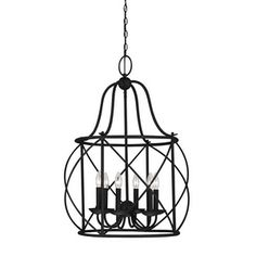 CanadaLightingExperts | Turbinio - Six Light Foyer