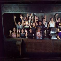Hahahaha... olha aí a gente no The Hollywood Tower Hotel
