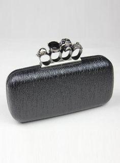 Black Fashion Satchels Bag With Studded$45.00