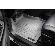 WeatherTech Custom Fit Front FloorLiner for Toyota Venza, Gr - grey