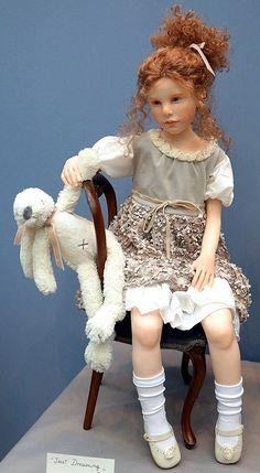 """Международная выставка кукол """"Art of Doll"""" в Гостином дворе. 13.12.2014. Название: Just Dreaming. Автор: Elisa Gallea"""