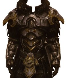 Nordic Armor from Skyrim. I wore this through pretty much the wholoe game just because it looked mad haha - Unknown Artist 3d Fantasy, Fantasy Armor, Fantasy Weapons, Armadura Medieval, Arm Armor, Body Armor, Medieval Armor, Medieval Fantasy, Larp