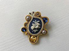 Cibulka / Vintage brošňa Projects To Try, Swarovski, Brooch, Vintage, Jewelry, Jewlery, Jewerly, Brooches, Schmuck