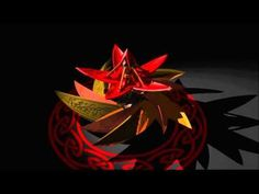 mechanical flower - YouTube