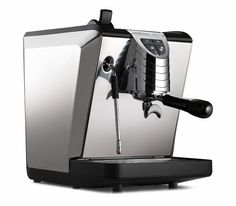 A simple yet remarkable espresso machine delivering great shots and steam pressure at the same time. The upgraded body style is a beautiful addition to any kitchen! #coffee #espresso Nuova Simonelli Oscar Espresso Machine - Lizzy's Fresh Coffee $1,575