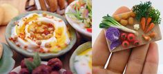 35 Mind Blowing Miniature Food Sculptures by Shay Aaron