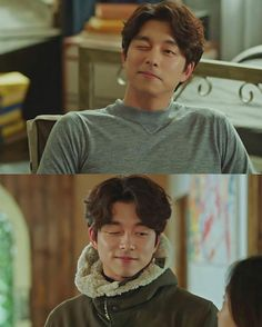 Gong Yoo winking is my favorite thing