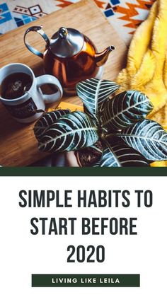 Why wait for the New Year? Start implementing these simple habits before 2020 to get ahead on your personal goals and improve your life! Argula Recipes, Coliflower Recipes, Budget Tracking, Finnish Recipes, Breathing Meditation, Best Multivitamin, Sinking Funds, Falooda, Create A Budget